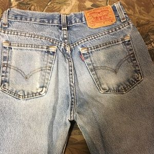 Levi's vintage 517 Bootcut slim fit jeans